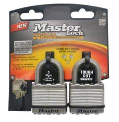 Master Lock Magnum Laminated Padlock 2 Pack
