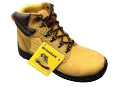Bata Bushman Lace-Up Work Boots