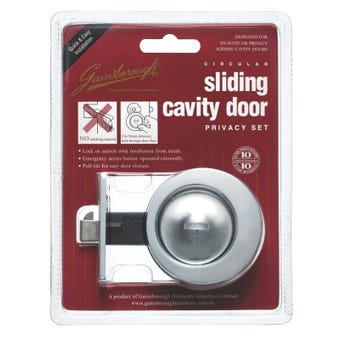 Door Lock Privacy Set - 395BCC