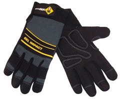 Gloves Gel Impact Med-Lrg Proflex