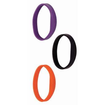 Schlage Credential Silicone Wristband Purple