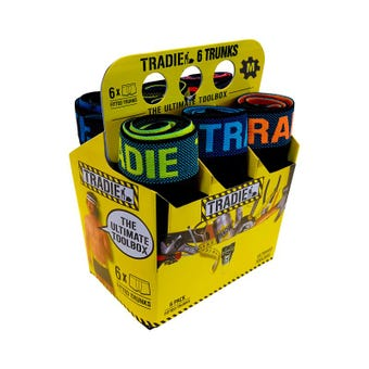 Tradie Men's Ultimate Trunk (6 Pack)