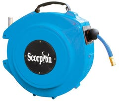 Scorpion Auto Retractable Air Hose Reel