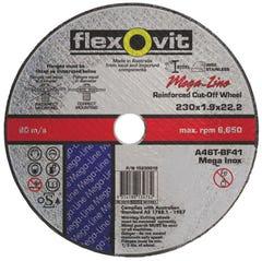 Flexovit 230 x 1.9 x 22.2mm Metal Cut Off Wheel Ultra Thin