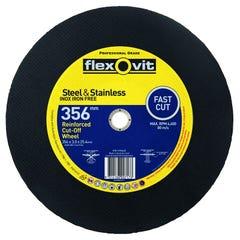 Flexovit 356 x 3.0 x 25.4mm Metal Cut-Off Wheel