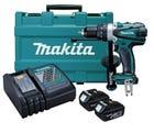 Makita 18V Hammer Driver Drill Kit