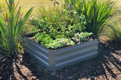 Greenlife Raised Garden Bed 1000 x 1000 x 300mm Slate Grey