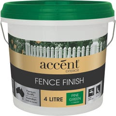 accent® Fence Finish 4L Pine Green
