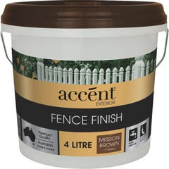 accent® Fence Finish 4L Mission Brown