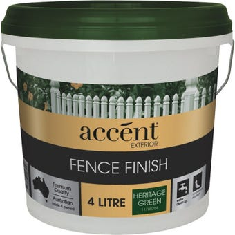Accent® Fence Finish Heritage Green 4L