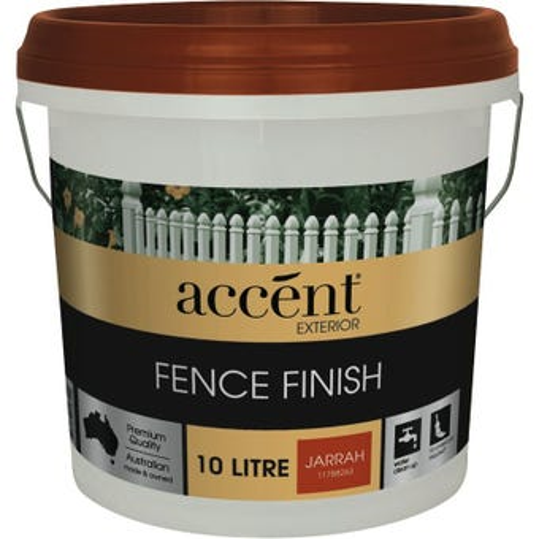 Accent® Fence Finish Jarrah 10L