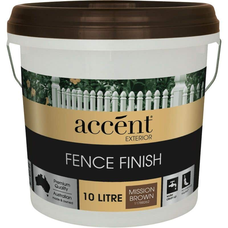Accent® Fence Finish Mission Brown 10L