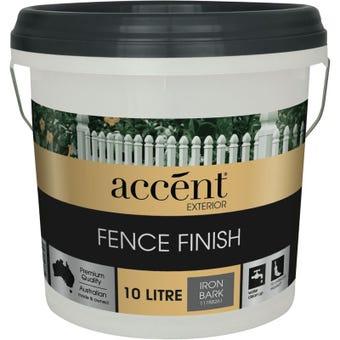 Accent® Fence Finish 10L Iron Bark