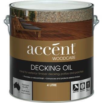 accent® Decking Oil Jarrah 4L