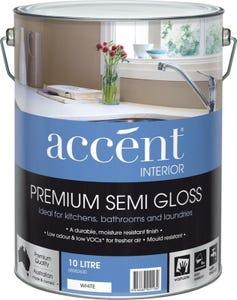 accent® Interior Semi-gloss White 10L