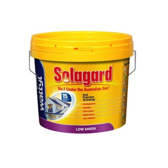 Wattyl Solagard Low Sheen White 10L