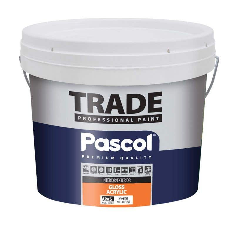 Pascol Trade Gloss Acrylic Paint 10L