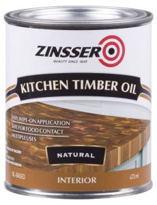 Zinsser Kitchen Timber Oil 473ml