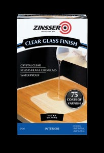 Zinsser Clear Glass Finish Kit 946ml