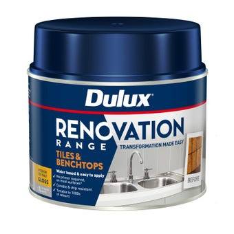 Dulux Renovation Range Tiles & Benchtops Gloss White 1L