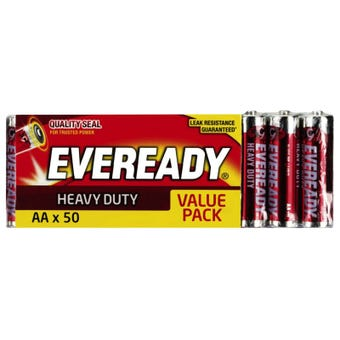 Eveready AA Heavy Duty Battery Pack