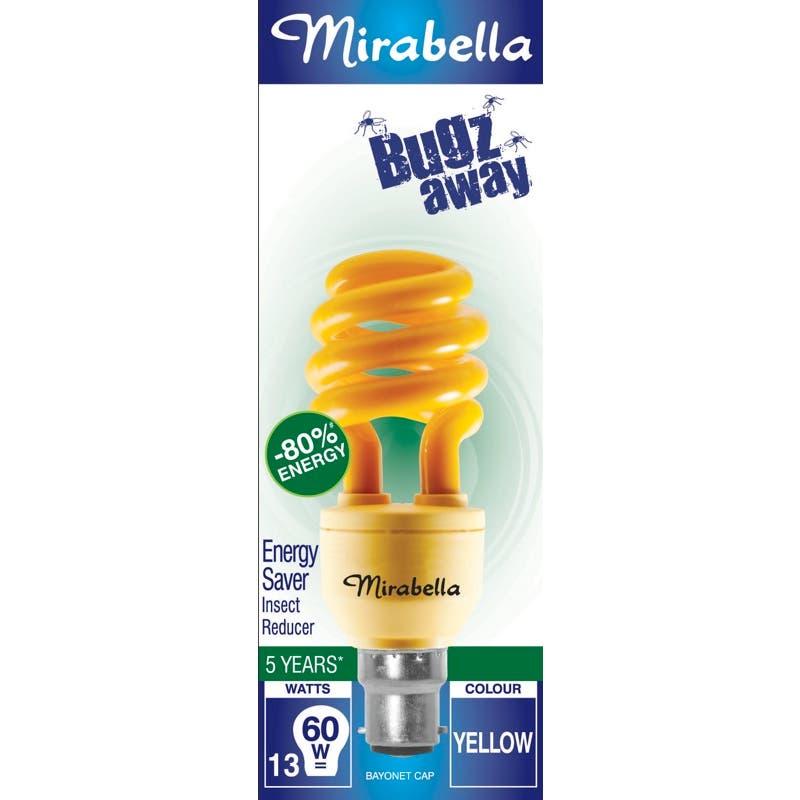 Mirabella Bugz Away Insect Reducer Globe BC