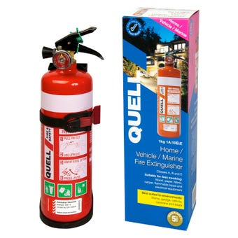 Quell 1kg Auto/ Home/ Marine Fire Extinguisher