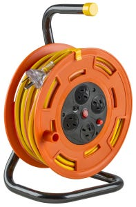 Eversure 4 Outlet Cable Reel 25m