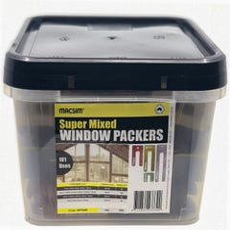 Macsim Super Mixed Window Packers - 500 Pack