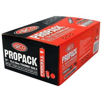 Airco Propack Galvanised Gun Nails 75x3.10mm - 1000 Box