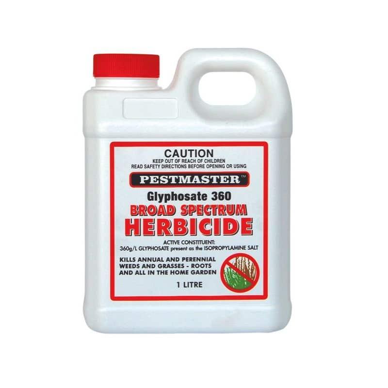 Pestmaster Glyphosate 360 Broad Spectrum Herbicide 1L