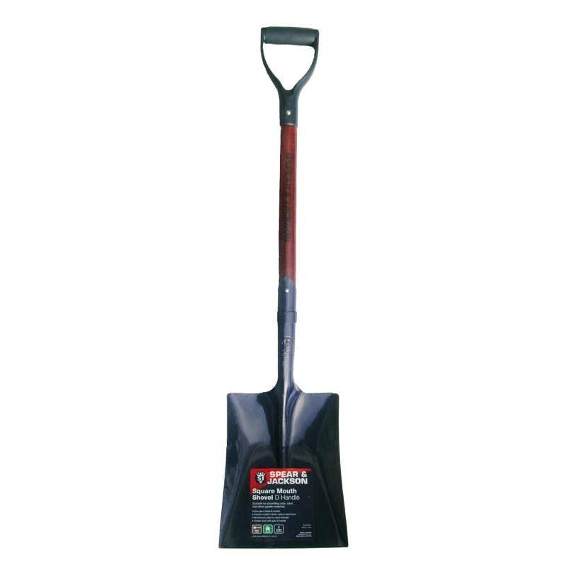 Spear & Jackson Square Mouth Shovel D Handle