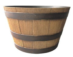 64cm Whiskey Barrel Planter