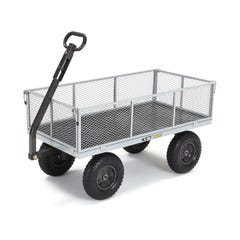Gorilla Carts™ Steel Mesh Garden Cart 450kg