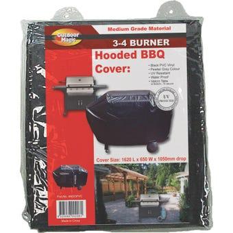 3-4 Burner Hooded BBQ Cover