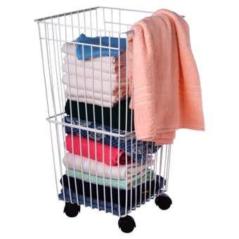 Basket Laundry With Castors
