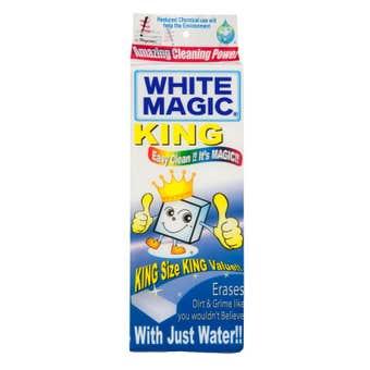 Sponge King Size White Magic