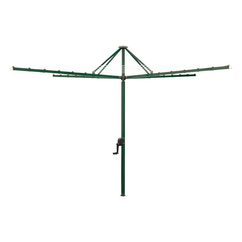 Clothesline Rotary Hawthorn Green 42