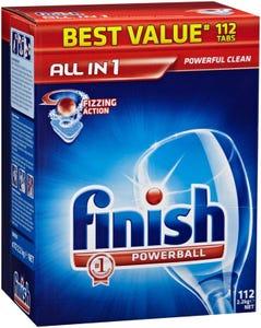 Finish Dishwashing Tabs Pk112