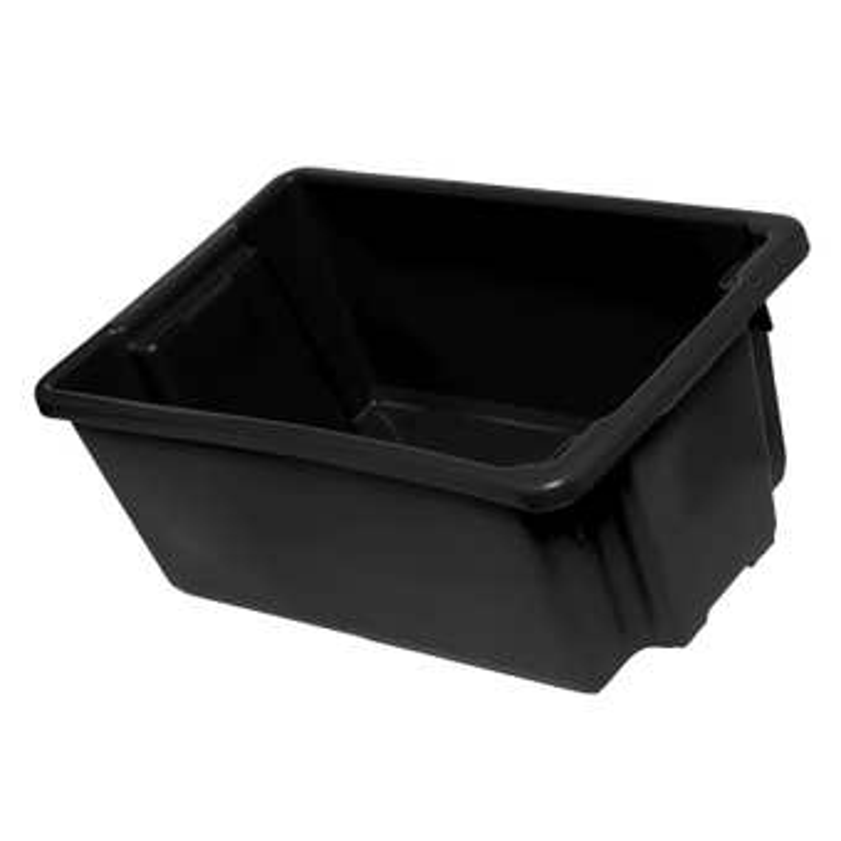 Crate Stack N Nest Black 50L