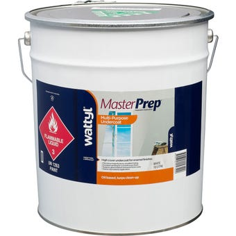 MasterPrep Multi Purpose Undercoat White 10L