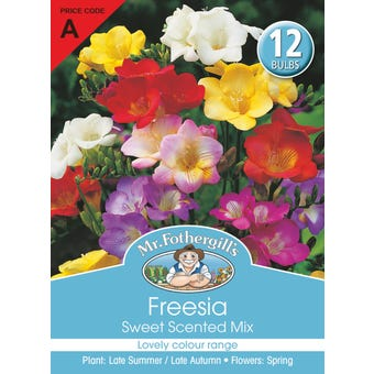 Mr Fothergill's Bulbs Freesia Sweet Scented Mix 12 Bulbs