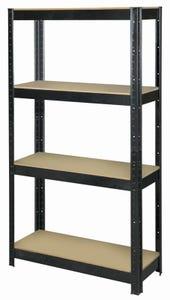 Shelf Unit 4 Tier 175kg 325Dx825Wx1500H
