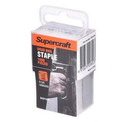 Supercraft 12mm Nail Brad Pack of 1000