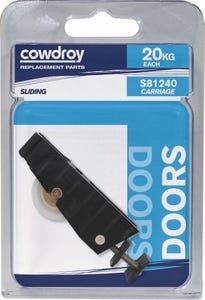 Cowdroy Adjustable Door Carriage with Nylon Wheel
