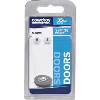 Cowdroy Heavy Duty Fixed Door Roller with Axle