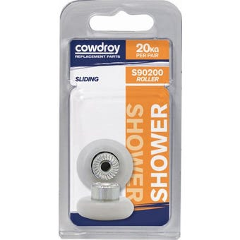 Cowdroy 19mm Round Wheel & Screw 2 Pack