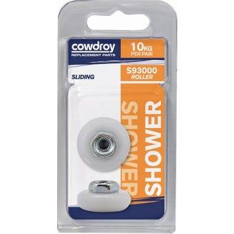 Cowdroy 19mm Wheel & Screw 2 Pack