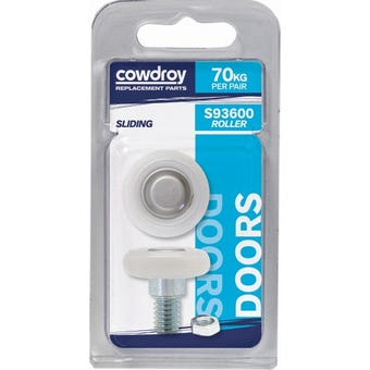 Cowdroy 29mm Wheel, Nut & Washer 2 Pack