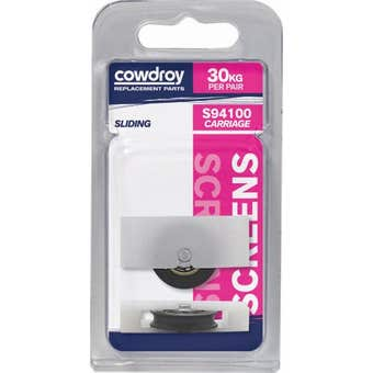 Cowdroy 27mm Sliding Window Concave Wheel Sheave 2 Pack